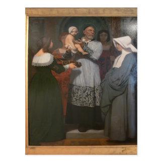 Santo Vincent de Jean-León Gerome- de Paule Tarjetas Postales