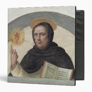 """Santo Vincent Ferrer (fresco) Carpeta 1 1/2"""""""