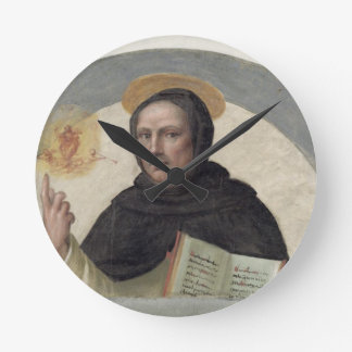 Santo Vincent Ferrer (fresco) Reloj Redondo Mediano