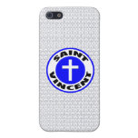 Santo Vincent iPhone 5 Protectores