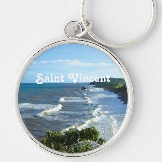 Santo Vincent y granadina Llaveros Personalizados