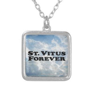 Santo Vitus para siempre - básico Colgante Cuadrado