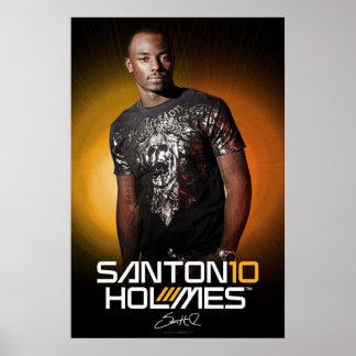 Santonio Holmes Special Edition Poster
