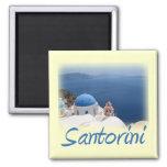Santorini 2 Inch Square Magnet