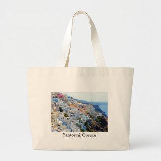 Santorini 2 large tote bag