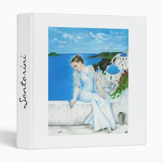Santorini Avery Binder