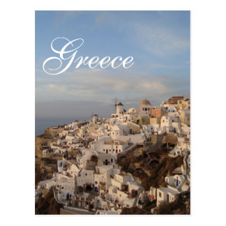 Santorini Beauty, Greece Post Card