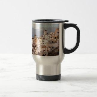 Santorini Beauty Travel Mug