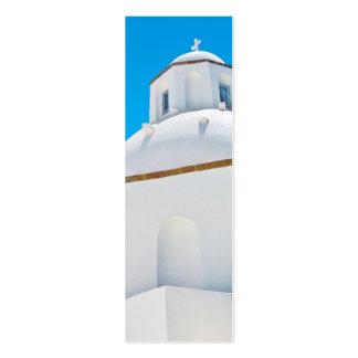 Santorini Bookmark Mini Business Card