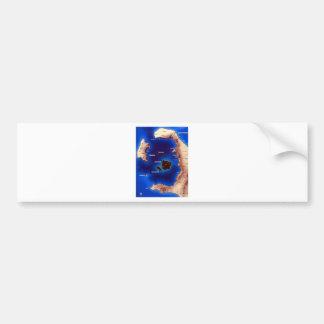 santorini-caldera-map.jpg bumper sticker