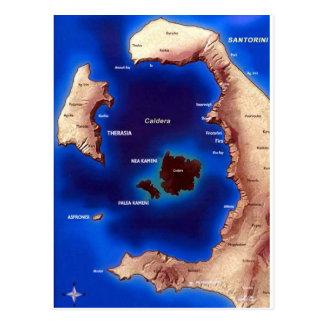 santorini-caldera-map.jpg tarjetas postales