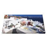 Santorini Canvas Canvas Prints