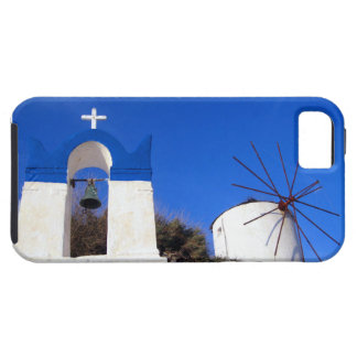 Santorini Church and Windmill iPhone Case