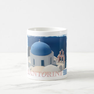 Santorini Church Coffee Mug