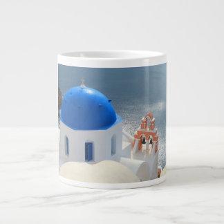 Santorini Church in the Afternoon Sun Giant Coffee Mug