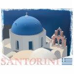 Santorini Church Photo Cut Out