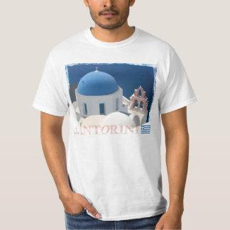 Santorini Church T Shirt