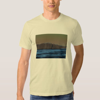 Santorini Cliffs Tee Shirt