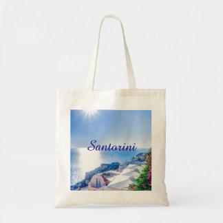 Santorini Grecia Bolsa Tela Barata