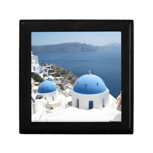 Santorini Grecia Cajas De Recuerdo