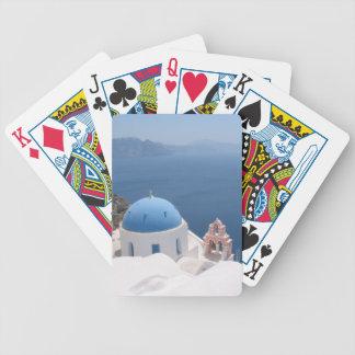 Santorini Grecia Cartas De Juego