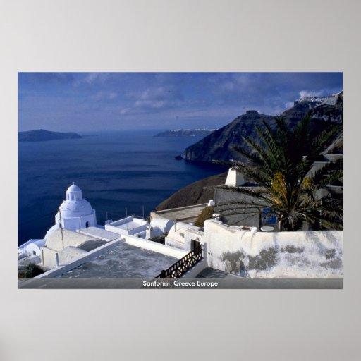 Santorini, Grecia Europa Impresiones