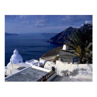 Santorini, Grecia Europa Tarjetas Postales