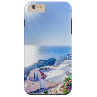 Santorini Grecia Funda De iPhone 6 Plus Tough