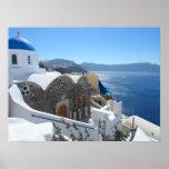 Santorini, Grecia Posters