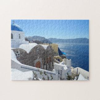 Santorini, Grecia Rompecabeza Con Fotos