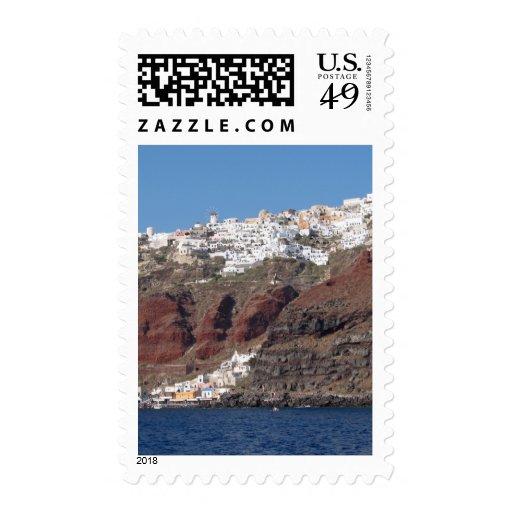 Santorini Grecia Sellos