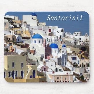 Santorini, Grecia Alfombrillas De Ratones