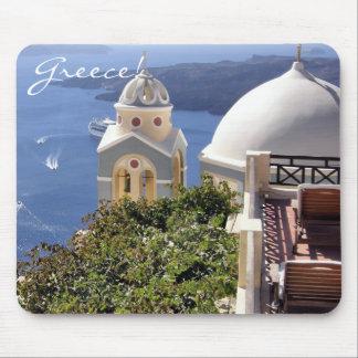 Santorini, Grecia Alfombrilla De Ratones