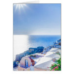 Santorini Grecia Tarjeta Pequeña