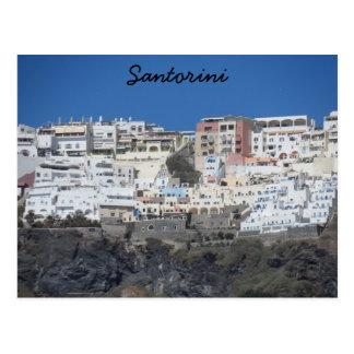 Santorini, Grecia Tarjeta Postal