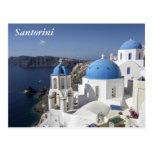 Santorini, Grecia Tarjetas Postales