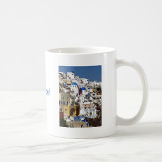 Santorini, Grecia Taza Clásica