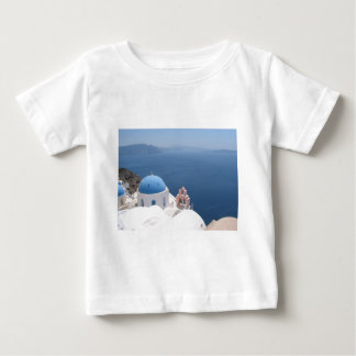 Santorini Greece Baby T-Shirt