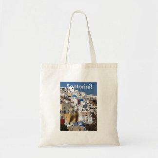 Santorini, Greece Bag