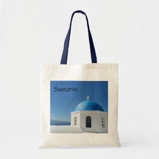 Santorini, Greece Budget Tote Bag