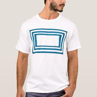 Santorini Greece Blue Design T-Shirt