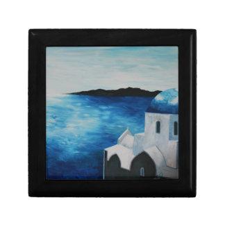 Santorini, Greece - Blue Dome Gift Boxes