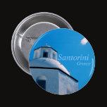 Santorini, Greece Button