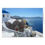Santorini, Greece Card