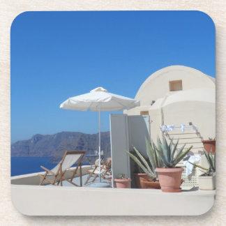 Santorini, Greece Coaster