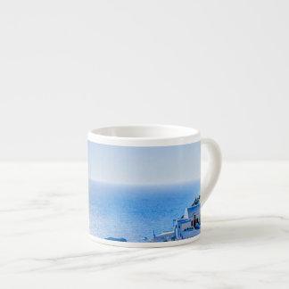 Santorini Greece Espresso Cup