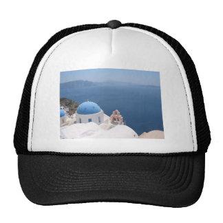 Santorini Greece Hat