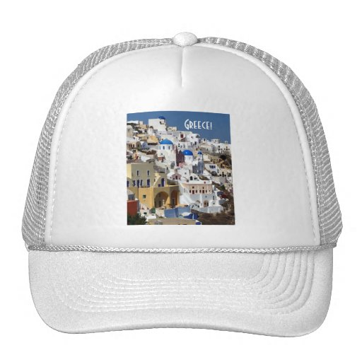 Santorini, Greece Hats