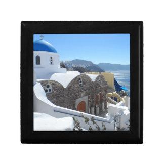 Santorini, Greece Jewelry Box