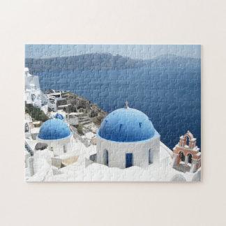 Santorini Greece Jigsaw Puzzle